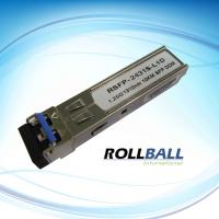 China Switch Interface 1550nm GE 1000BASE-ZX SFP Transceiver Module With SONET OC-24-LR-1 on sale
