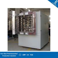 China Modular Design Freeze Dryer Lab Equipment Applied Injectable Vials And Herbs wholesale