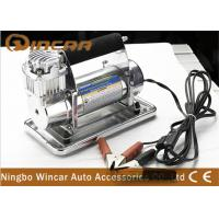 Quality 150Psi Metal 40mm Cylinder Car Small Portable Air Compressor 12V 72L / Min Air Flow for sale