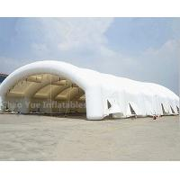 China Outdoor Portable 20x6m Inflatable Wedding Tent with CE Blowers wholesale