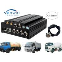 China AHD 720P 960P HDD SD card 3G Mobile DVR / MDVR 4 channel dvr integrate with Oil Sensor wholesale