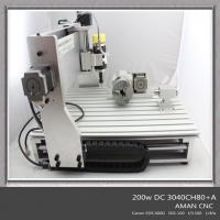 China Hot Sale Hobby 3D 4 Axis Carving Milling Engraving Wood CNC Router Machine wholesale