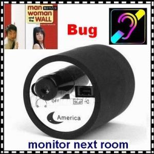 China Mini Next Room Ear Amplifier Through Wall Door Audio Listening Spy Surveillance Bug wholesale