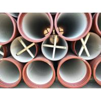 China EN598 Ductile Iron Pipes with high alumina cement on sale