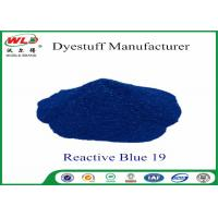 China High Stability Fabric Reactive Dyes Reactive Brill Blue KN-R C I Blue 19 wholesale