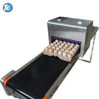 China Cycle Move Nozzle And Entire Tray Big Coder Egg Printing Machine wholesale
