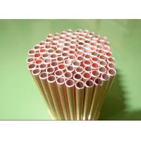 China Cold Drawn 4*0.6mm CU / Copper Coated Bundy Tube GB/24187-2009 wholesale