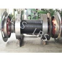 China Offshore Windlass Winches / Drawworks Drum For Petroleum Drilling Rig wholesale