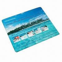 China Promotional Mouse Mat, Hardtop PVC/Textile Topped Fabric wholesale