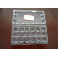 China Hatching Clear Egg Cartons Tray With Lid ,  Egg Tray Plastic For Egg Packaging on sale