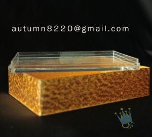 China BO (44) acrylic napkin case wholesale