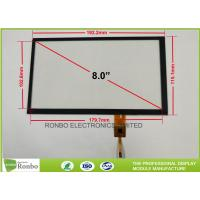 China Touch Screen Projected Capacitive Touch Panel 8.0 Inch Low Transmission on sale