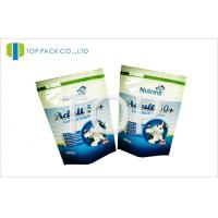 Quality Healthy Food Packaging Pouch Aluminum Foil Laminated Zipper Lock for sale