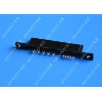 China Compact 22P 125V AC SATA Data Connector , PCB SATA Female Connector wholesale