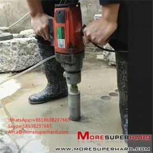 China vacuum brazed diamond core bits  Alisa@moresuperhard.com wholesale