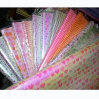 Quality Printed translucent OPP wrapping paper teacher gift with Single Side 50cm * 70cm for sale