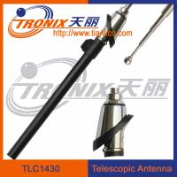 China am fm telescopic car antenna/ 4 sections mast car telescopic antenna TLC1430 on sale