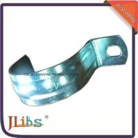 China Zinc Galvanized Metal Pipe Clips / Carbon Steel Metal Tube Clamps G Clamp Structure wholesale