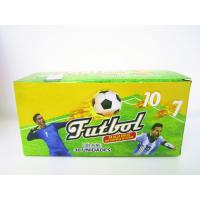 China World Cup Multi Fruit Flavor CC Stick Candy With Tattoo Stick And Soccer Whistle wholesale