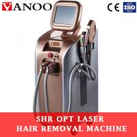 China Shr Epilation Ipl Hair Removal And Skin Rejuvenation Machine With CE Approved on sale