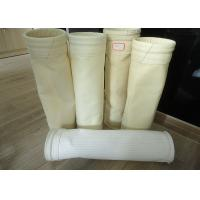 China Micron Needle Felt Micron Filter Bags Acrylic Nylon For Dust / Air Filtration wholesale