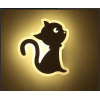 China CAT Acrylic LED indoor wall lighting /Interior led wall lamp for kids room wholesale