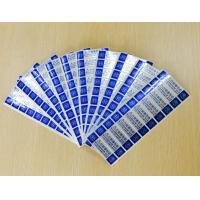 China Custom Printing Tamper Evident Security Labels With Gloss Lamination on sale