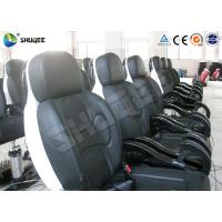 Quality Genuine PU Leather Movie Theater Seat Dynamic For 5D Cinema System for sale