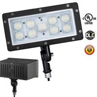 China LED Security Floodlight 5000K Outdoor LED Flood Light Cool White Photocell 70 Watt wholesale