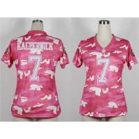 China $18usd 2013 Nike Nike San Francisco 49ers jerseys Women's Fashion Jersey New Pink Camo wholesale