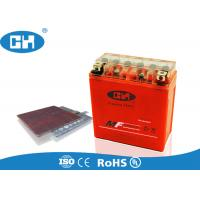 China Valve Regulated Sealed Lead Acid Battery 12v , Rechargeable Agm Motorcycle Battery on sale