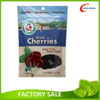 China Dried Healthy Gouji Berries packaging Pouch , Bottom Gusset Ziplock Bags on sale