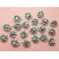 """Quality Professional Metallic and Holographic Mini Gift star bow 3 / 4"""" diameter , 3mm width for sale"""