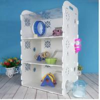 Quality acryl hamster cage,New style clear square household 3 steps acrylic hamster cage for sale with available price for sale
