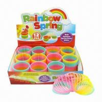 China 12-piece Magic Rainbow Spring with EN71 Mark wholesale