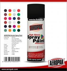 China AEROPAK China Wholesale 400ml High Quality Acrylic Spray Paint on sale