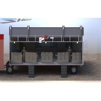 China Outdoor Large Mobile 5D Cinema , 12 Seats Cinema Truck wholesale