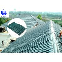China Corrosive Resistance ASA Synthetic Resin Roof Tile Waterproof Plastics Traditional Chinese Sheet wholesale