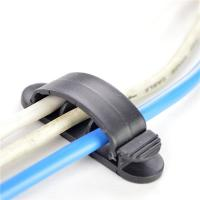 China Home And Office Using Cable Drop Clip Portable Wire Organizer Computer Cord Divider wholesale