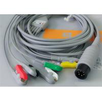 China 5 Leads Ecg Snap Medical Cable , Medical Equipment / Medical Device Accessories wholesale