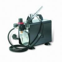 China Airbrush Compressor Kit, Suitable for Airbrush Tattoo and Nailart, GS Certified wholesale