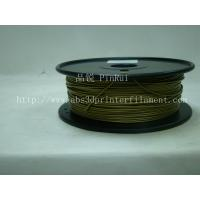 Quality Bronze 3D Printer Metal Filament Polished 1.75 Mm 3D Printer Filament for sale