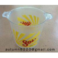 China oval ice bucket wholesale