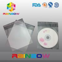 China OPP cellophane bags for CD card / gift packaging , self adhesive seal wholesale