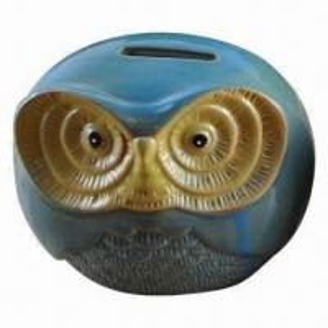 China Animal ceramic coin bank wholesale
