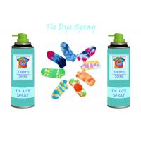 China Multi Colorful 200ml Tie Dye Spray Paint DIY For Clothing / Scarves / Stockings wholesale
