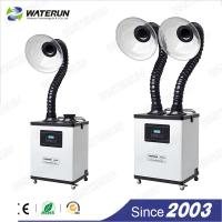 Buy cheap Beauty bench top smoke fume extractor , 330m3 / h chemical fume extractor from wholesalers