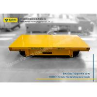 Buy cheap heavy load 10T battery powered rail transfer flat cart for long distance transport from wholesalers