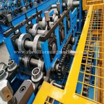 Machinery Metal Hydraulic C Purlin Roll Forming Machine Steel Roof Truss Making