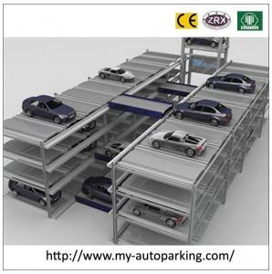 China Five Level Automated Conveyor Smart Car Parking Equipment Underground Parking Garage Desig on sale